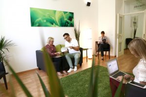 Wartezimmer Evergreen Dental